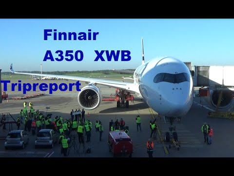 Tripreport Finnair A350 XWB AY851 Helsinki - Hamburg