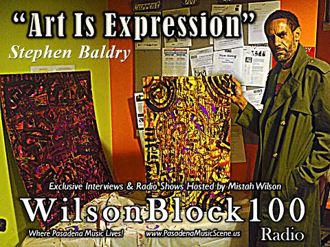 Stephen Baldry talks Visual Arts, Fashion, & 2015 Pasadena Mayoral Election on WilsonBlock100 Radio