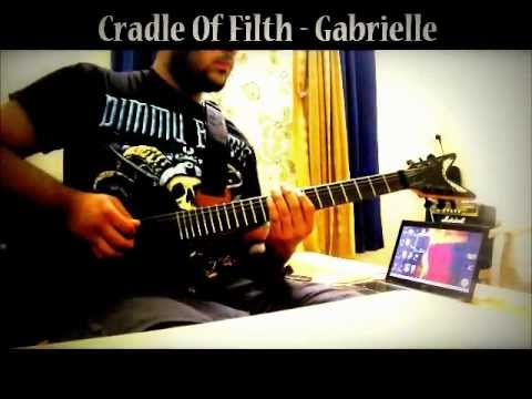 Cradle Of Filth - Gabrielle (Guitar Cover)