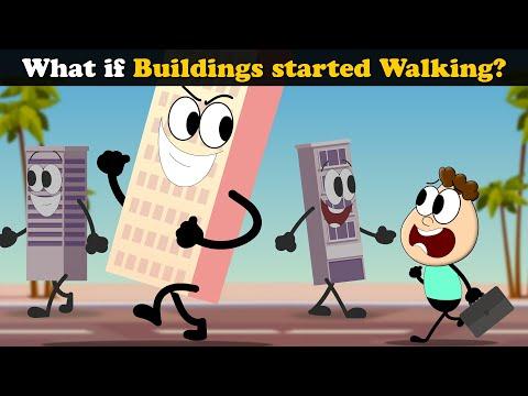 What if Buildings started Walking? + more videos   #aumsum #kids #science #education #whatif