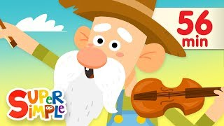 Old MacDonald Had A Farm (2018) More Kids Songs Super Simple Songs