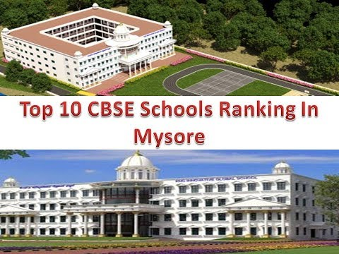 Top 10 CBSE Schools Ranking In Mysore