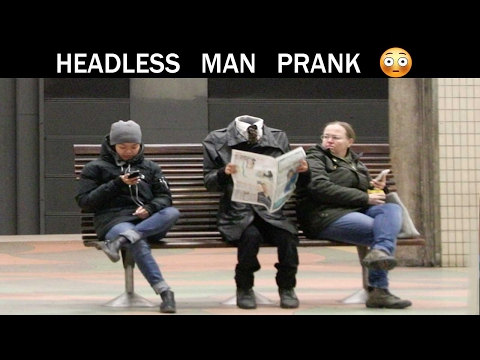 Headless man Prank - Julien Magic