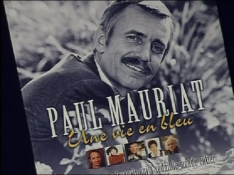 2002 SERGE ELHAIK presents PAUL MAURIAT's biography book on French TV