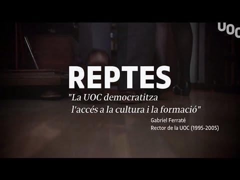 Cap 2. REPTES de Gabriel Ferraté, fundador i primer rector de la UOC