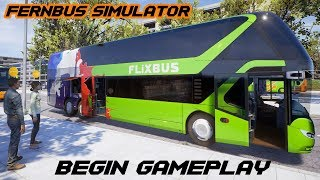Fernbus Simulator - Begin Gameplay Moments PC/STEAM HD