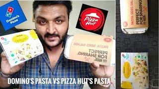 Domino's Pasta VS Pizza Hut's Pasta 🔥🍕|| pasta battle || Which one is better? 🔥|| Italiano Pasta❤