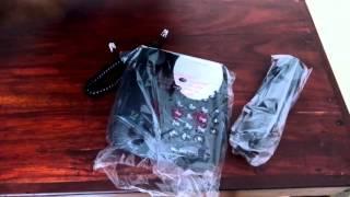 Motorola CT1 Corded Unboxing