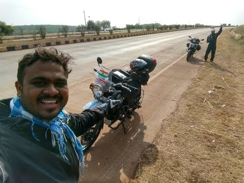 Day 1: Mumbai to Kanyakumari | Bangalore | 1000km | RE Himalayan | GO PRO HERO 4