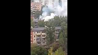 Пожар в подольске(Пожар в Подольске, рядом с ул . Юбилейная полностью выгорела вся квартира., 2013-12-08T14:36:13.000Z)