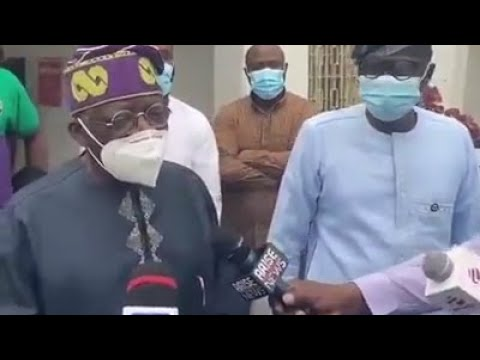 Lekki Massacre !!! Tinubu Returns to Nigeria, Says He Cannot Be KILLED by Fake News