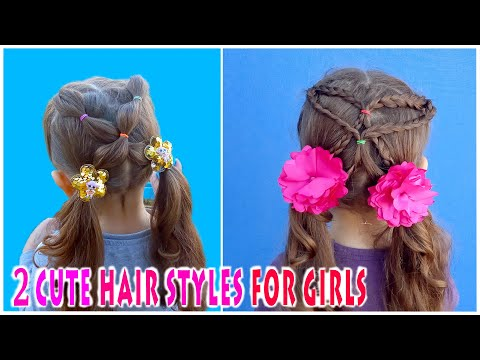 Cute Hairstyles For Girls . Hair Styles Tutorial  For Little Girls.  Arpi's Hairstyles thumbnail