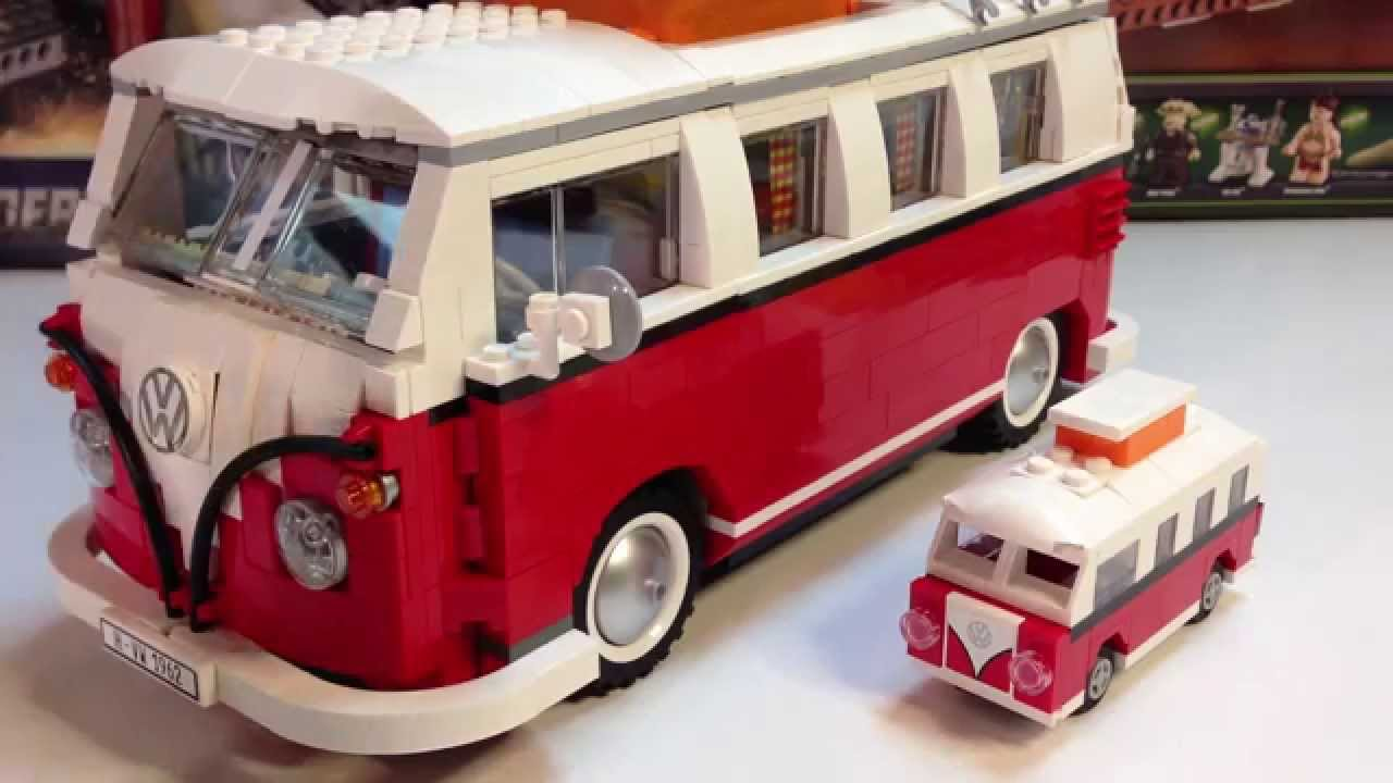 lego creator exclusive polybag 40079 volkswagen vw t1. Black Bedroom Furniture Sets. Home Design Ideas