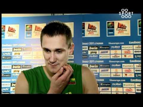 SPORT1: Paulius Jankūnas apie Europos vyrų krepšinio čempionatą
