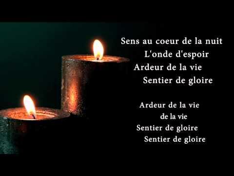 Vois sur ton chemin instrumental with lyrics (Karaoke) - Les Choristes
