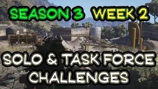 Season 3 Week 2 Solo & Task Force Challenges 🞔 Ghost Recon Wildlands 🞔 Walkthrough & Tips