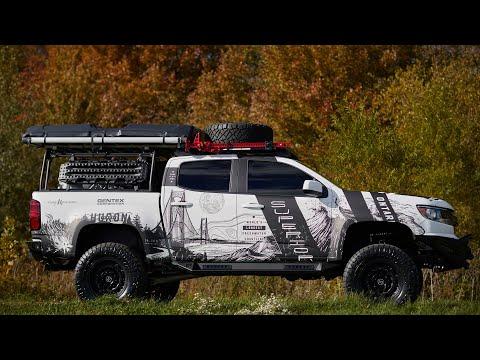 SEMA 2018 - Gentex Michigan-Themed Chevy Colorado