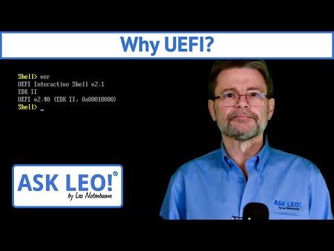Why UEFI?