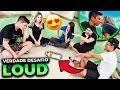 ROLOU BEIJO?! PRIMEIRO VERDADE OU DESAFIO NA LOUD!! - YouTube