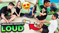 ROLOU BEIJO?! PRIMEIRO VERDADE OU DESAFIO NA LOUD!!