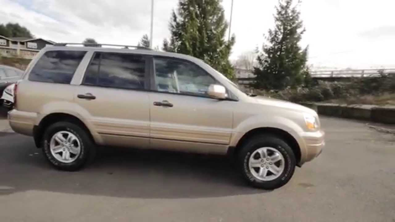 2005 Honda Pilot EX L | Desert Rock Metallic | 5H567863 | Seattle | Renton    YouTube