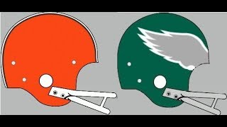Action PC Football 1980 Tournament Final Four Browns vs Eagles winner advances to Title Game