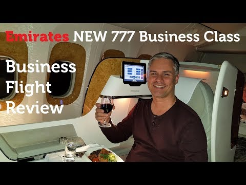Emirates NEW 777 Business Class