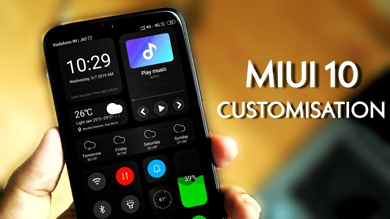 MIUI10 CUSTOMISATION - Best Theme For Redmi Note devices