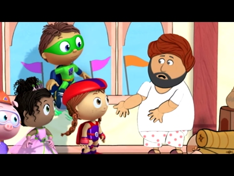 Super WHY! Full Episodes English ✳️  The Emperor's New Clothes ✳️  S01 E20 (HD)