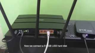 TP-Link - Share USB Hard Disk or Pen drive over WiFi [PC and Android Mobile]