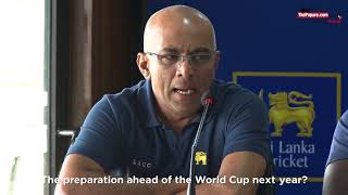 Hathurusingha reveal plans ahead of the 2019 World Cup