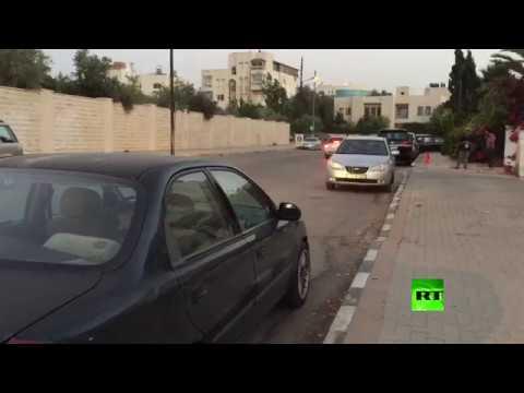 مشاهد من أمام السفارة الإسرائيلية في العاصمة الأردنية وتعليق شهود عيان  - نشر قبل 2 ساعة