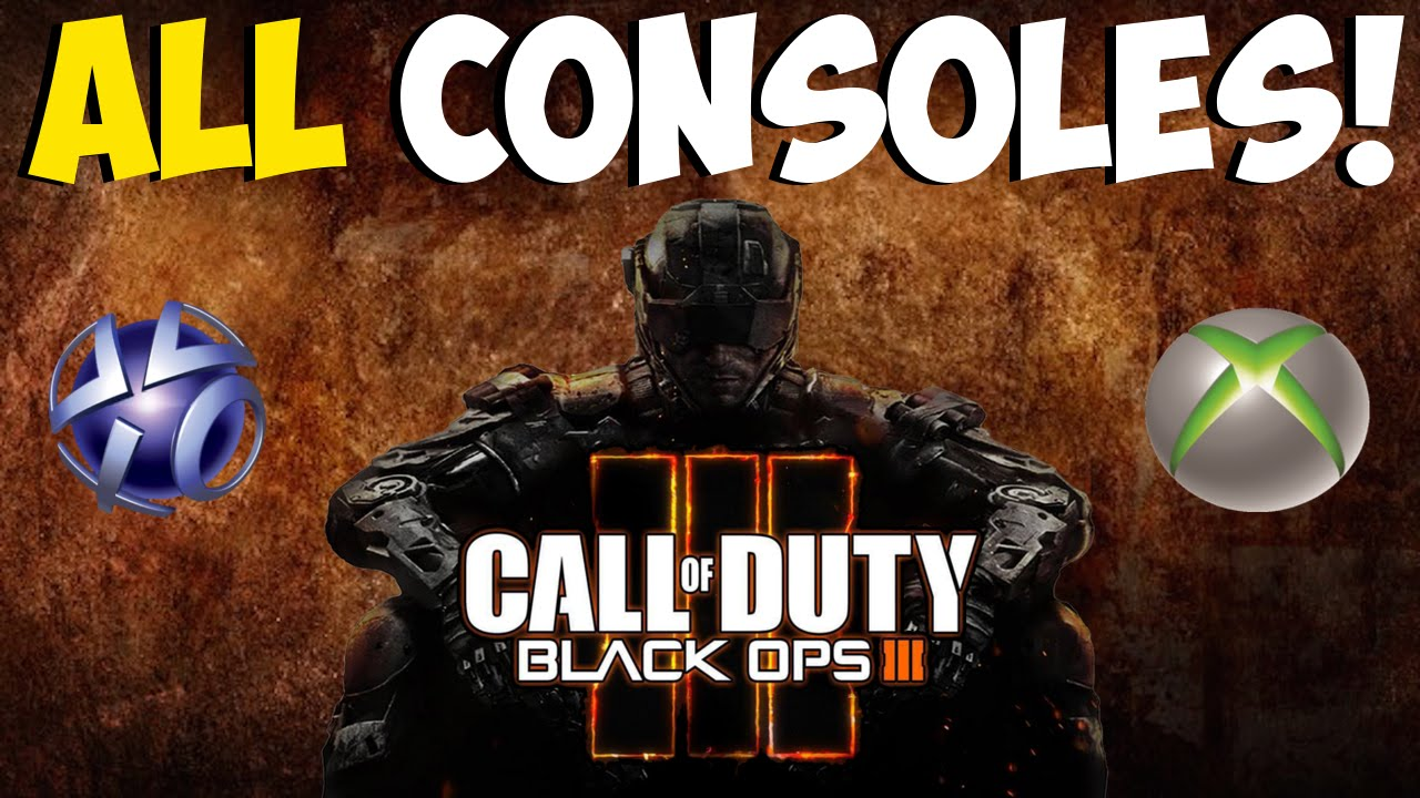"""Black Ops 3: BO3 COMING TO ALL CONSOLES! """"BO3 Xbox 360 ...Video Games Xbox 360 Bo3"""