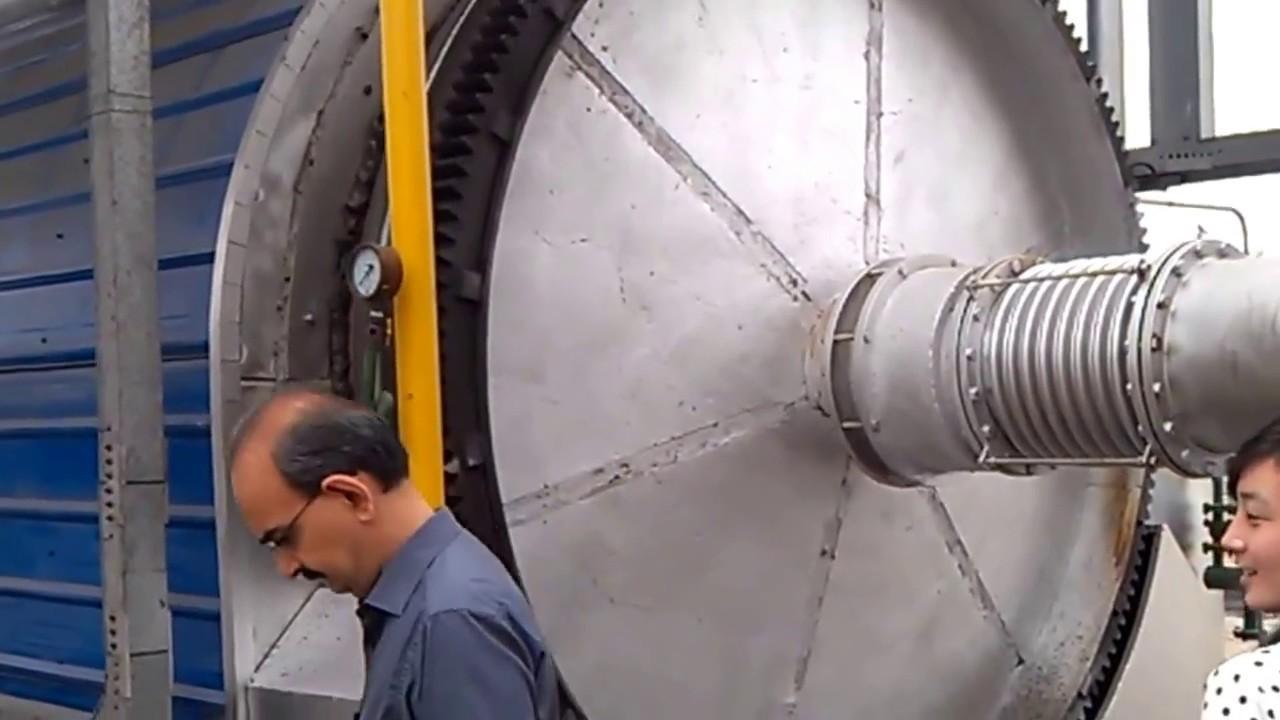 RESEM tyre pyrolysis plant working