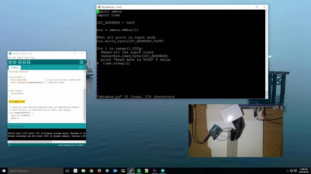 Raspberry Pi - I2C Communications