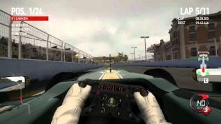 F1 2010 第9戦 ヨーロッパGP バレンシア 決勝「最後列からスタート♪」