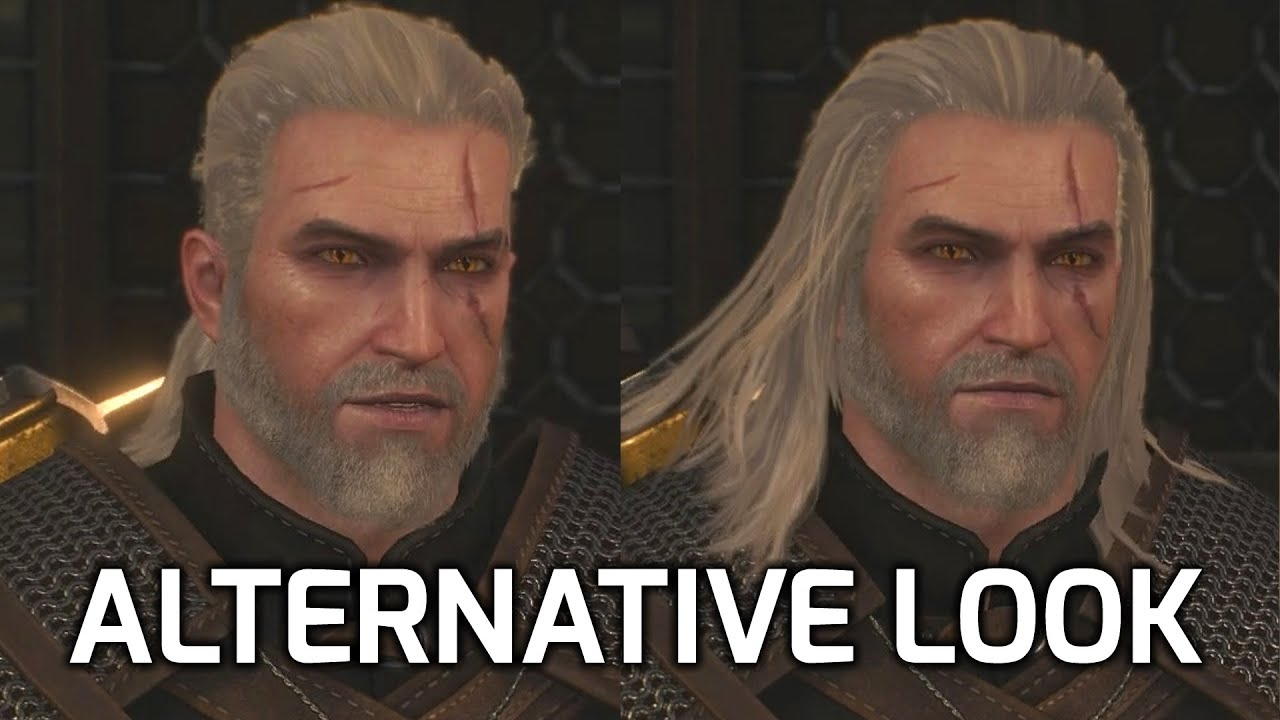 Witcher 3 Hair Styles: Alternative Haircuts/Hairstyles For