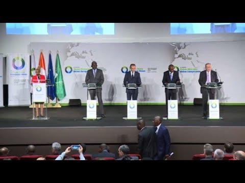 Abidjan: session de clôture du sommet UE-AU