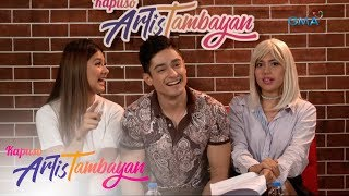 ArtisTambayan: Kim Rodriguez, Addy Raj, and Isabelle de Leon share their first role in showbiz