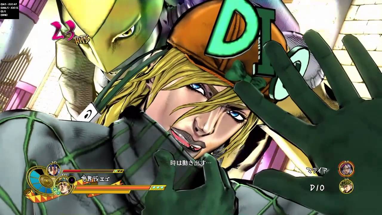 JoJo's Bizarre Adventure : Eyes Of Heaven -Alternate Universe Diego's DHA  On All Playable Characters
