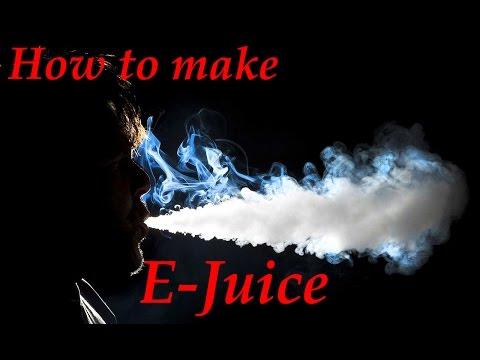 Diy vape juice without pg