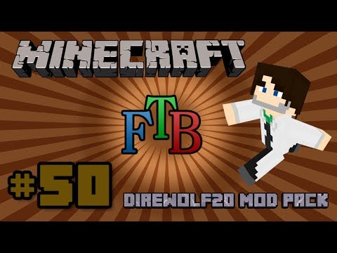 Minecraft 1.6 FTB Direwolf20 Pack - S1E50 - Crafting with Liquids