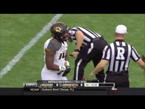 2014 Citrus Bowl - #16 Missouri Vs. #25 Minnesota (HD)