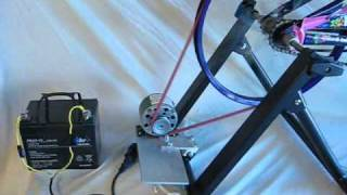 Why use A blocking diode with  battery charging dynamo bicycle generator