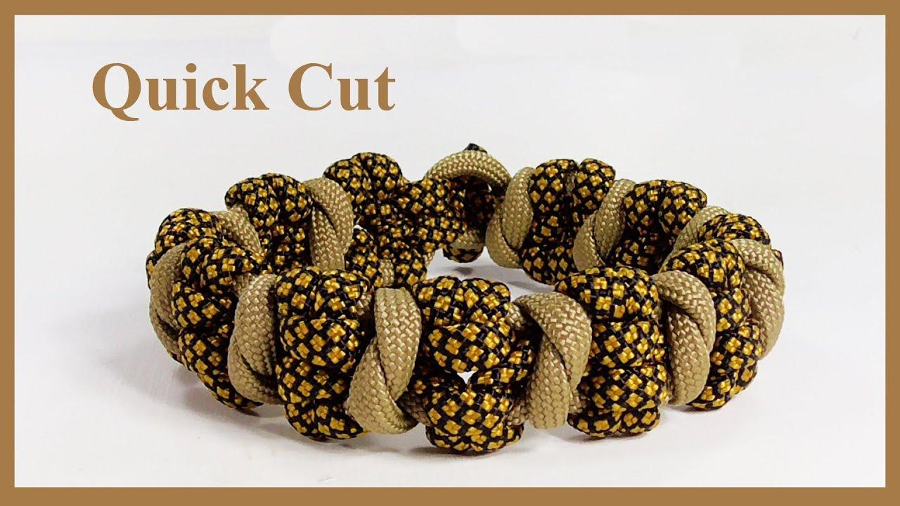 Gasoline Paracord Bracelet Design - Quick Cut