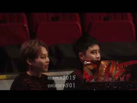 HD mama 2015 EXO jolin tsai reaction