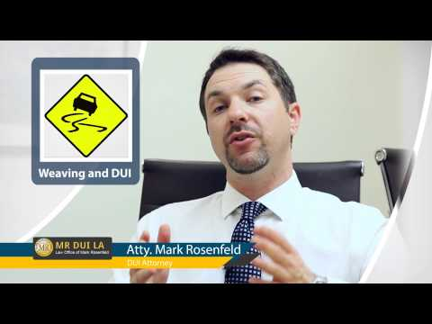 Weaving: A Probable Cause for DUI Investigation in Los Angeles, California | (800) 970-0384