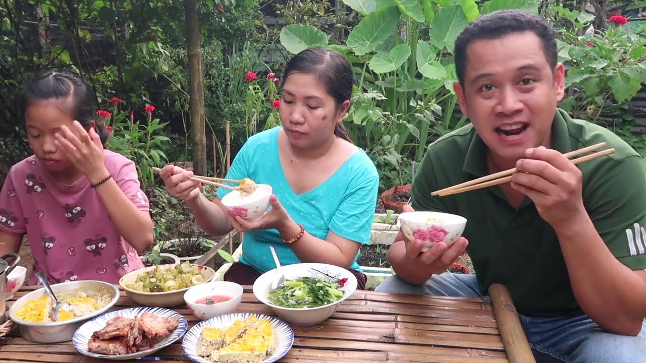 Cơm Chiều Sườn Chiên Chả Trứng | 7 Thuận #371
