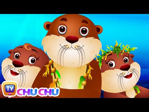 Sea Otter Nursery Rhyme | ChuChuTV Sea World | Animal Songs For Children