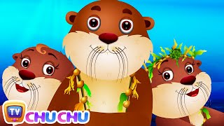 Sea Otter Nursery Rhyme | ChuChuTV Sea World | Animal Songs For Children